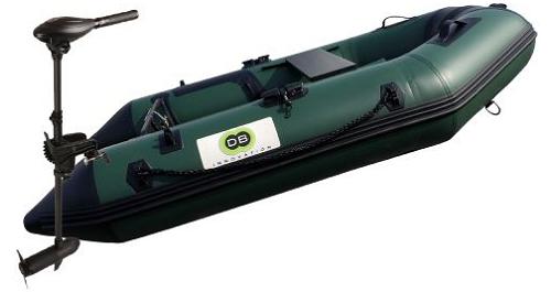 Annexe opblaasbare boot 230 Fish + Osapian 40lbs