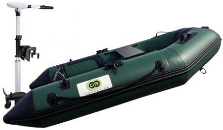 Annexe opblaasbare boot 230 Fish + Protruar 2.S 101 lbs