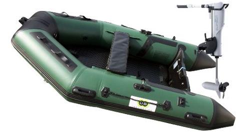 Annexe opblaasbare boot 270 Fish + Comax 55 lbs