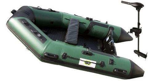 Annexe opblaasbare boot 270 Fish + Osapian 40lbs