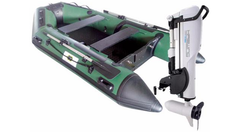Annexe opblaasbare boot 300 Fish + Comax 55lbs