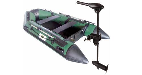 Annexe opblaasbare boot 300 Fish + Osapian 40lbs