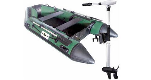 Annexe opblaasbare boot 300 Fish + Protruar 2.S 101lbs